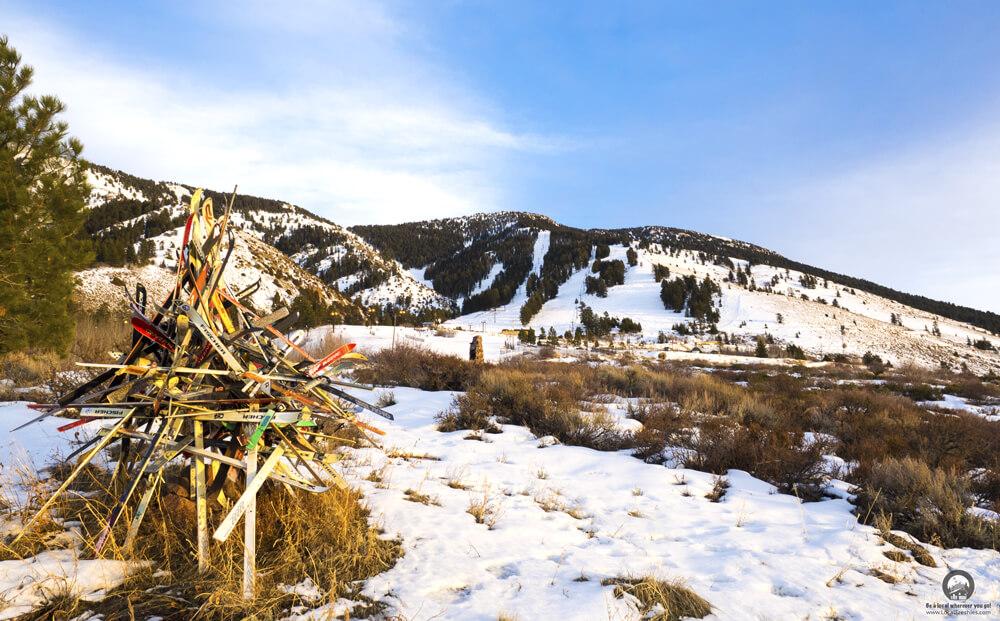 Iconic runaway ski collection at Pebble Creek