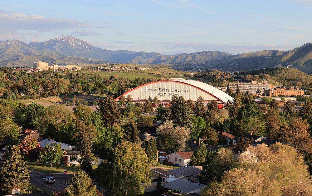 image: Holt Arena, facing south
