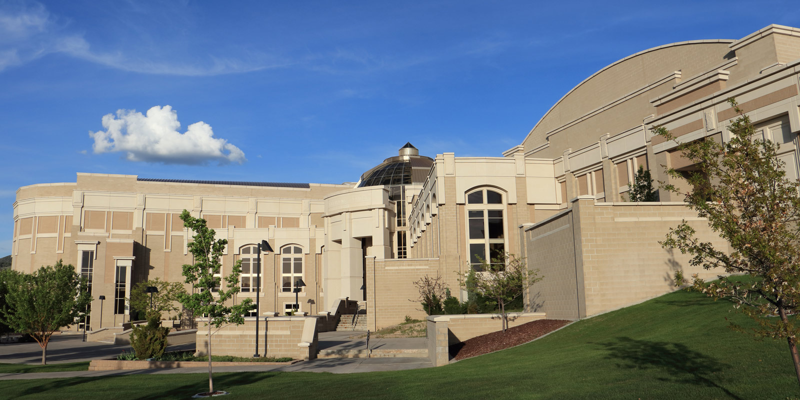 image: Stephens Performing Arts Center - ISU campus