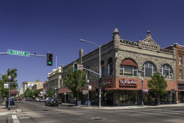 downtown Pocatello