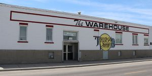 image: exterior WestSide Players building - pocatello