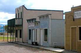 image: Fort Hall Replica town