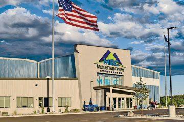 exterior building: Mountain View Event Center
