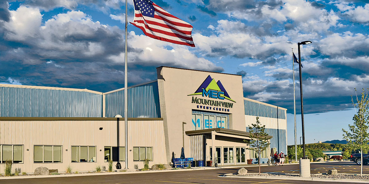 exterior building: Mountain View Event Center