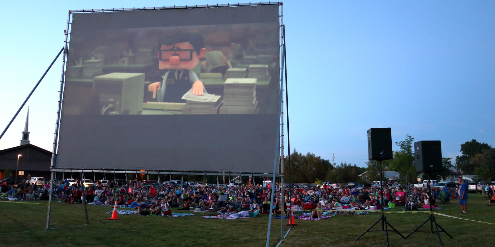 image: movie in the park