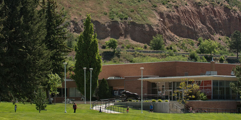 image: Student Union building at Idaho State University