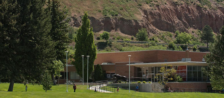 image: Student Union building at Idaho State University