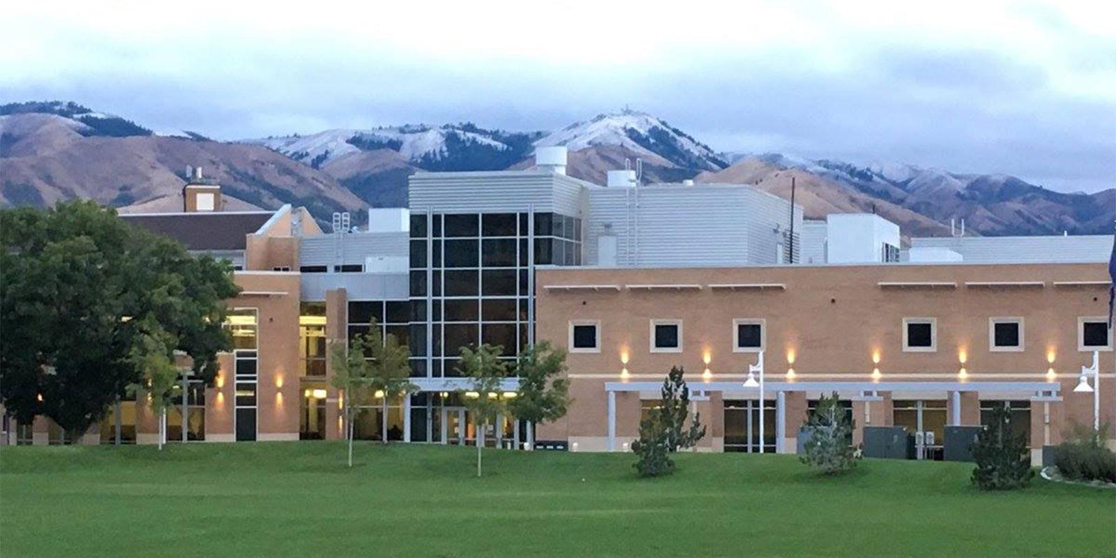 image: Rendezvous center exterior - ISU