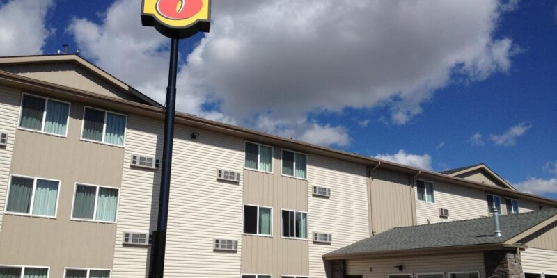 Super8 motel in Pocatello