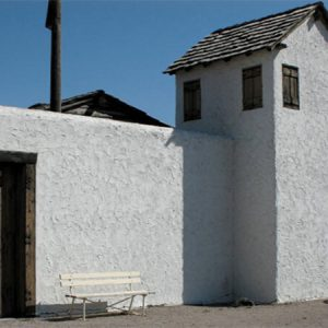 image: Fort Hall Replica entrance