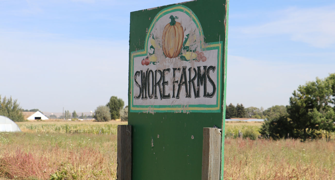 Sign: Swore Farms - Idaho