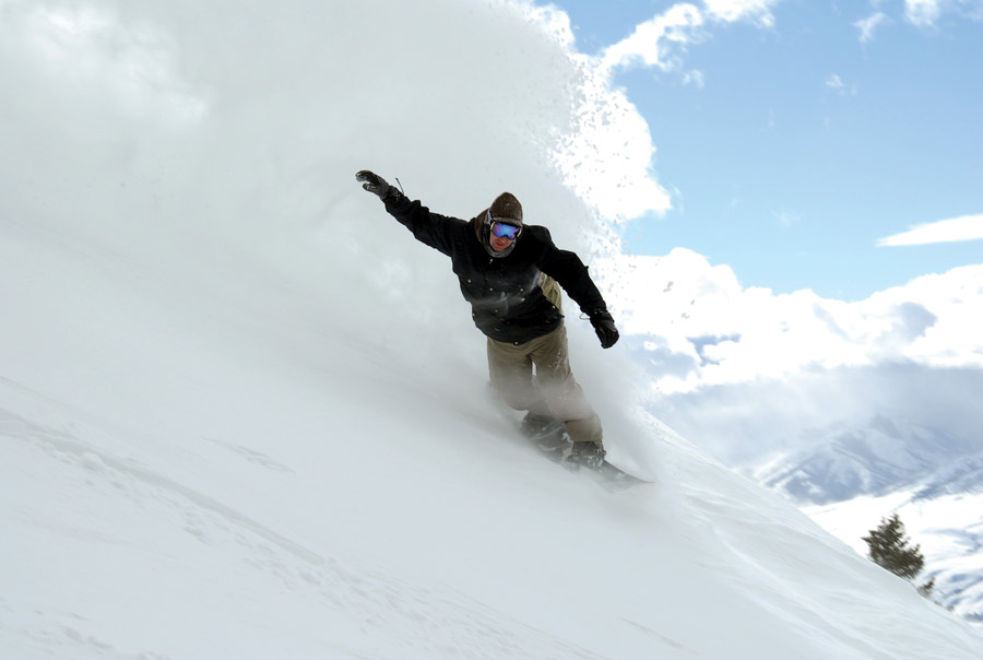 image: Pebble Creek Snowboarder