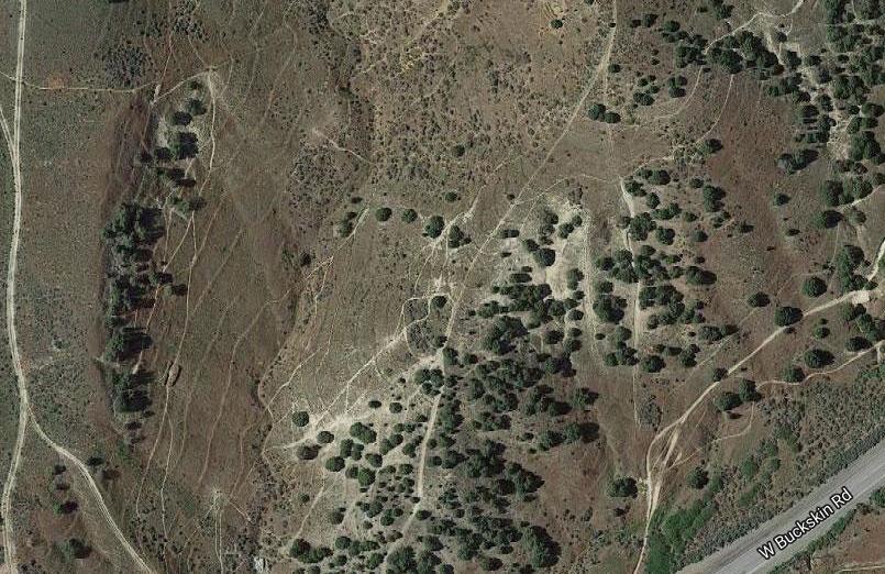 image: map view Bengal Ridge Disc Golf Course
