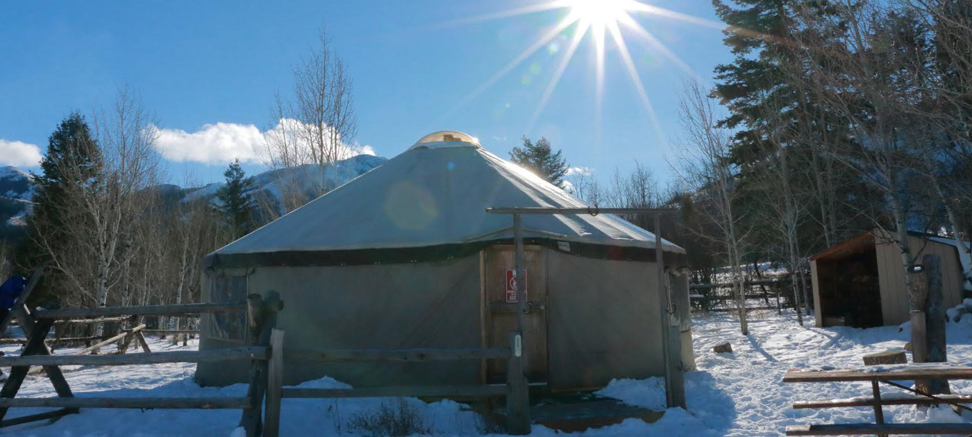 image: East Mink Creek Yurt