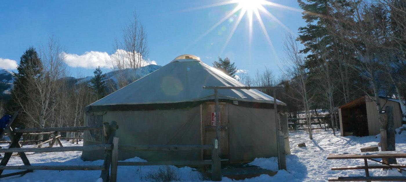 image: East Mink Creek Yurt