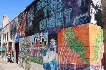 Urban Outdoor Art Gallery