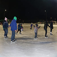 Ice Skating in Chubbuck, Idaho