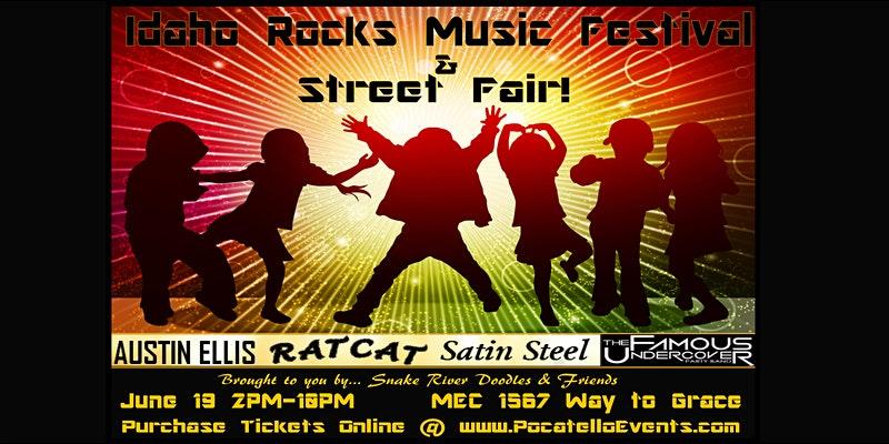Idaho Rocks Music Festival & Street Fair
