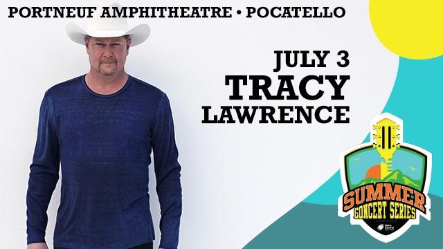 Tracy Lawrence Live At Portneuf Amphitheatre, Pocatello!
