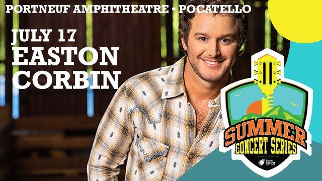 Easton Corbin Live At Portneuf Amphitheatre, Pocatello!