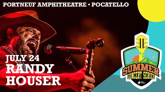 Randy Houser Live At Portneuf Amphitheatre, Pocatello!
