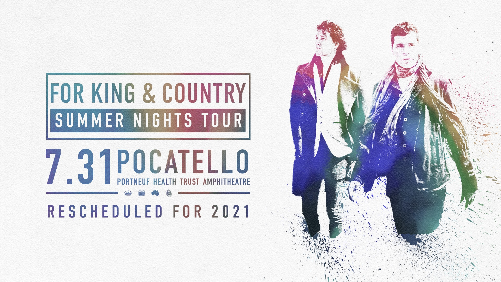 For King and Country with Company Summer Nights Tour