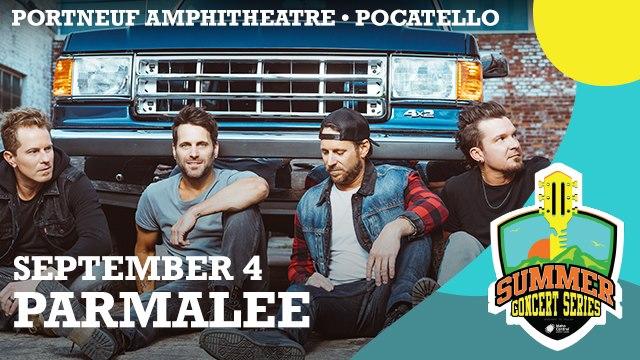 Parmalee Live At Portneuf Amphitheatre, Pocatello!