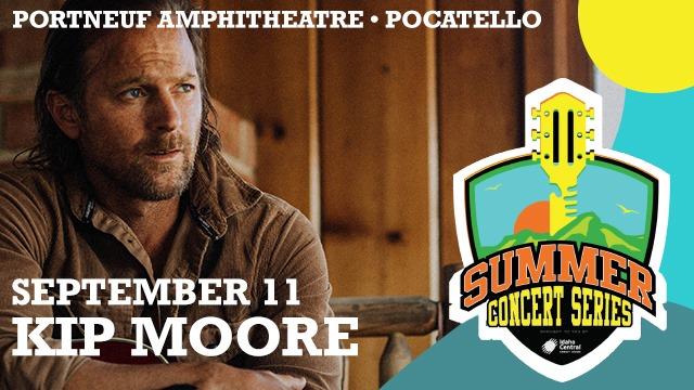 Kip Moore Live At Portneuf Amphitheatre, Pocatello!