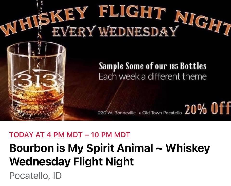 Around the World in 12 Years~Whiskey Wednesday Flight Night
