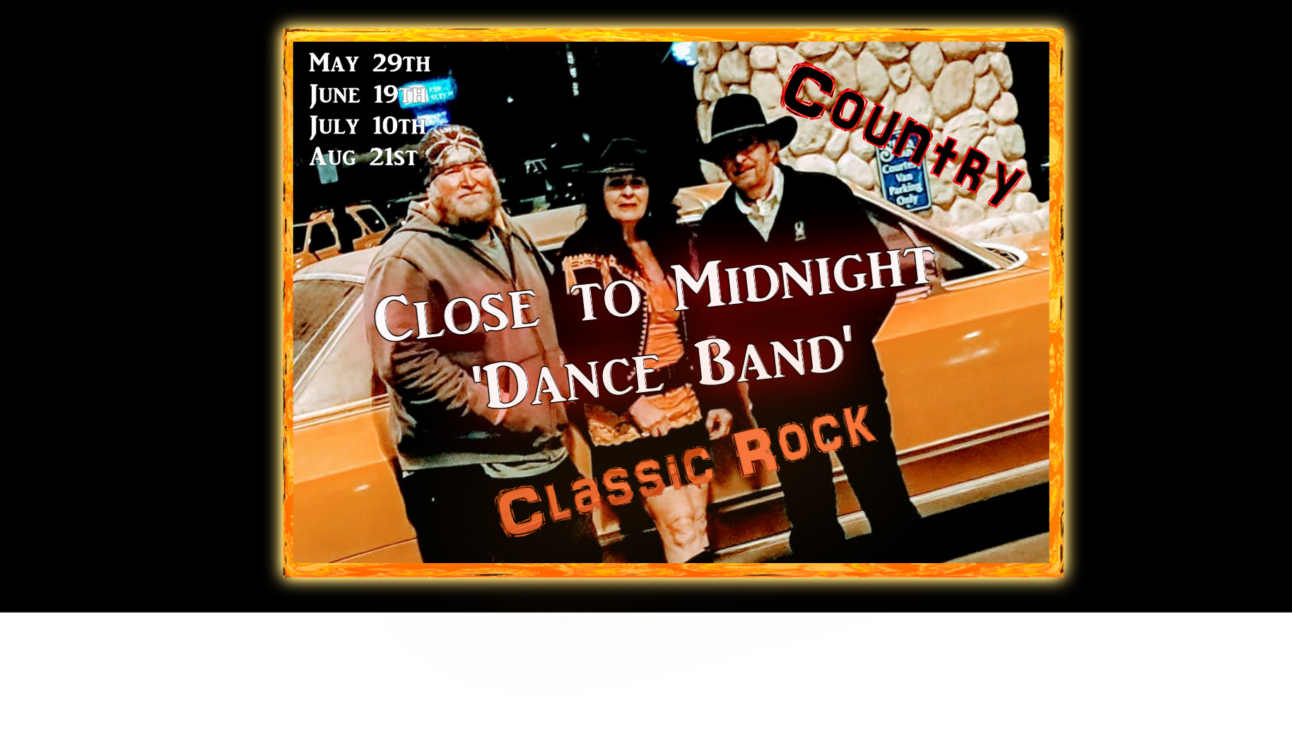 Live Country and Classic Rock Band - Close to Midnight