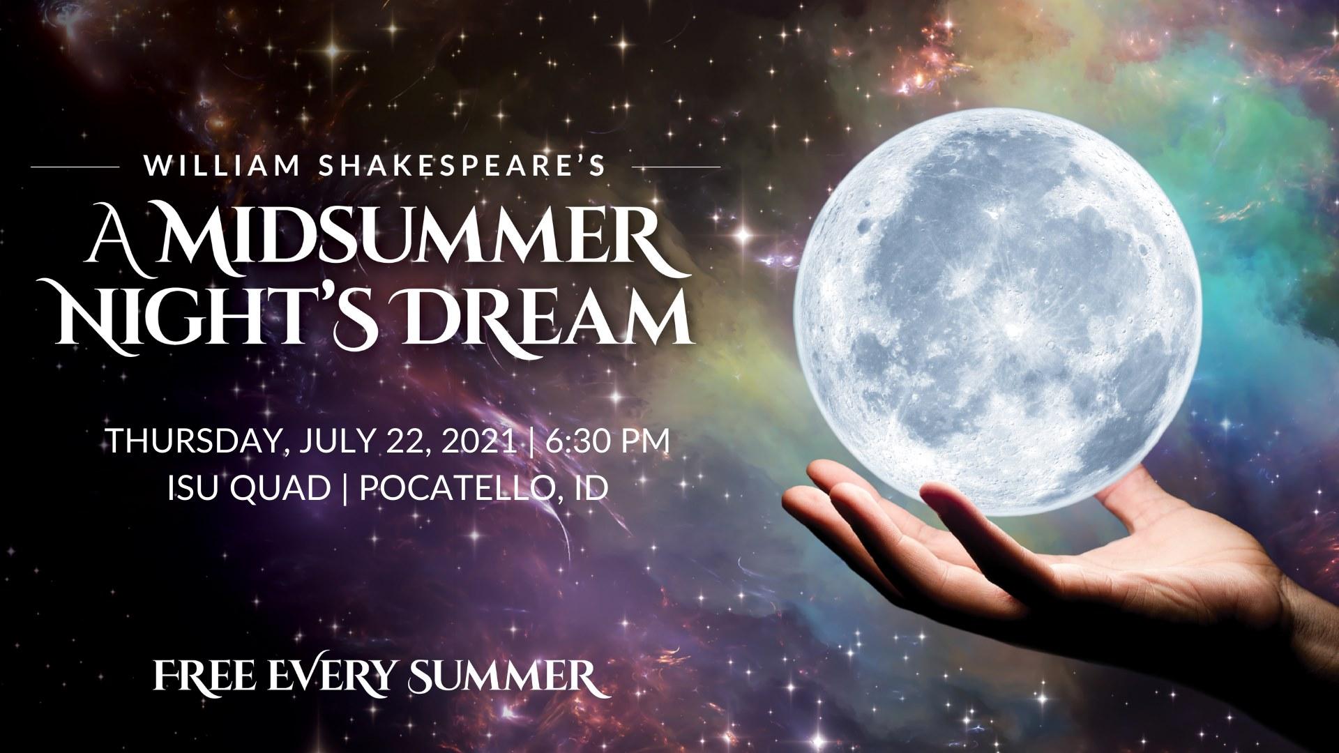 Midsummer Night's Dream in Pocatello, ID