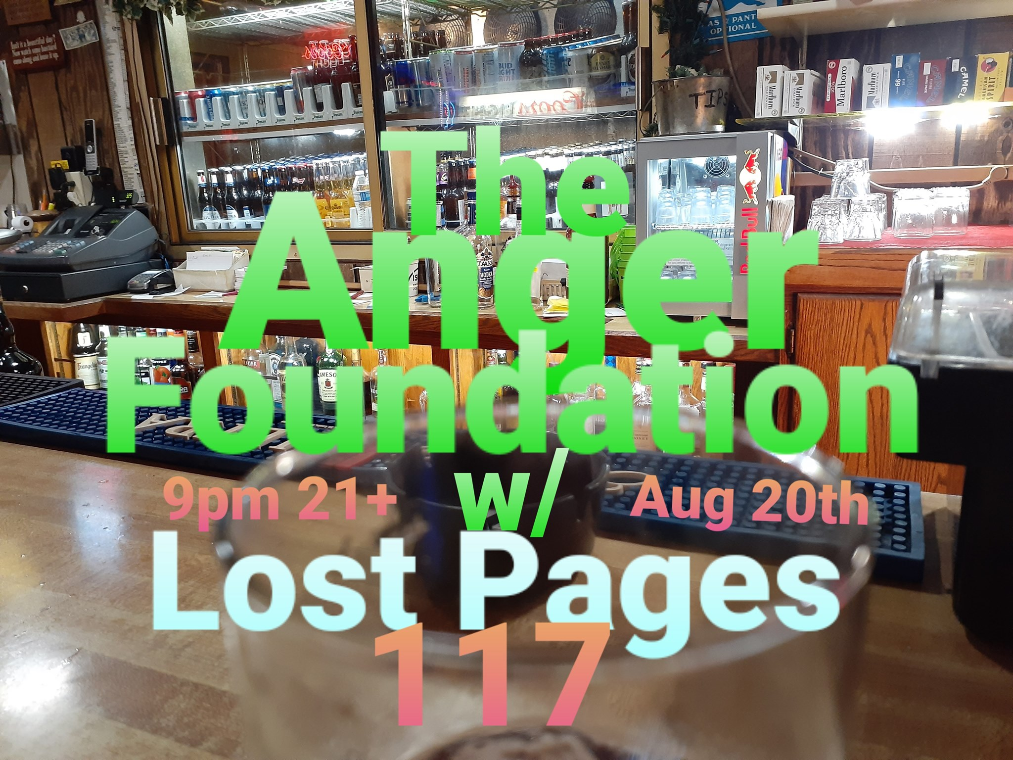 The Anger Foundation/ Lost Pages / Nicholas Evans