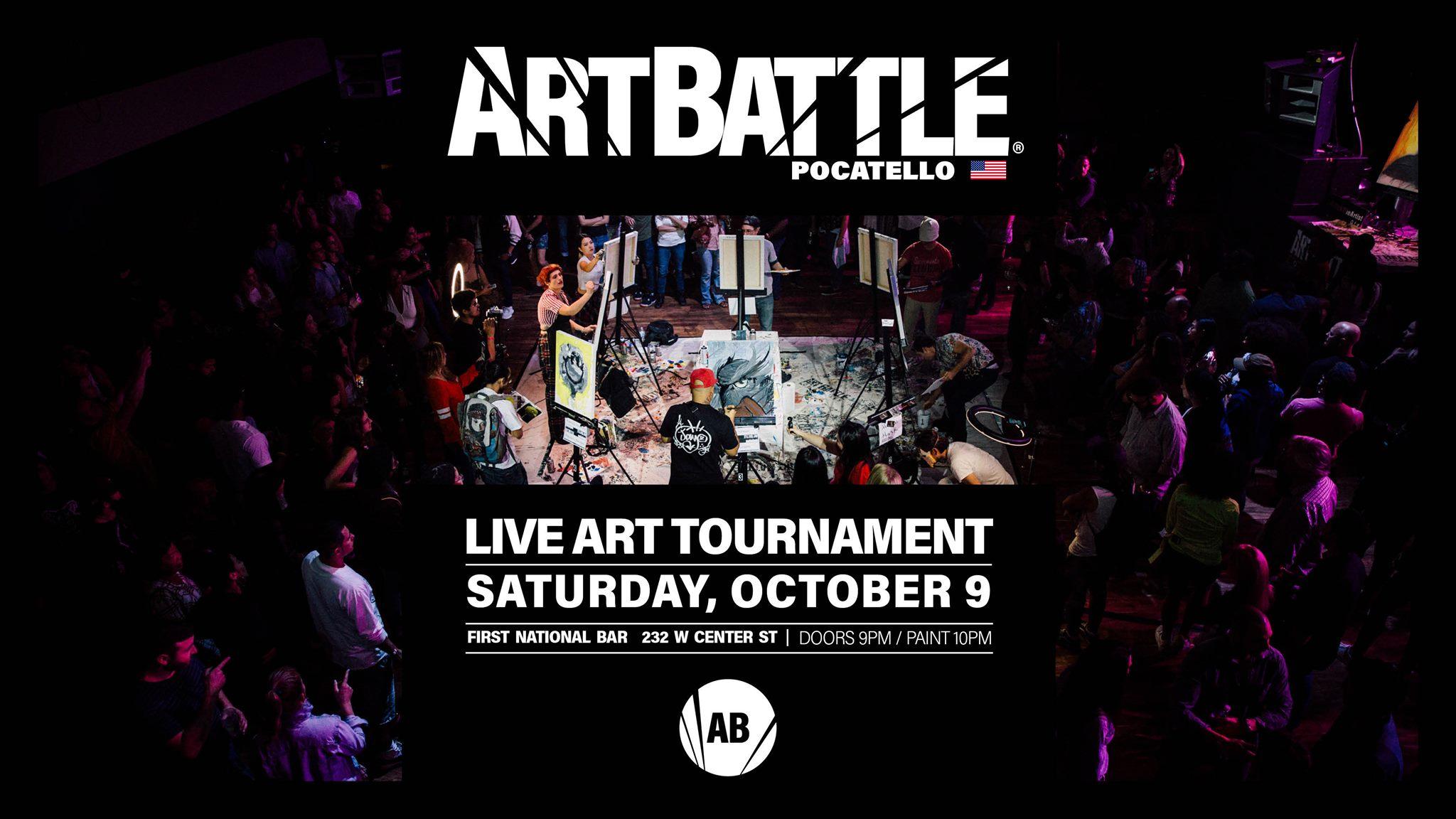 Art Battle Pocatello - October 9, 2021