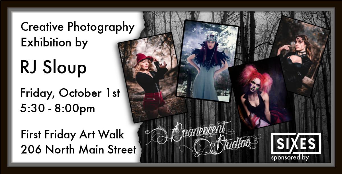 Art Show At First Friday Art Walk!