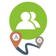 Trail Route contributor icon